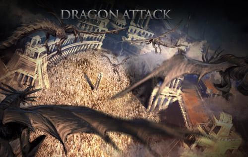Нападение драконов