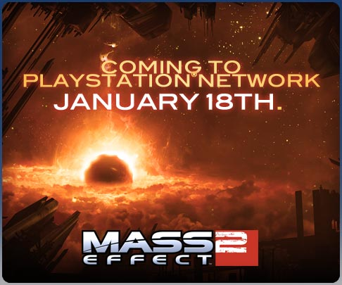 Mass Effect 2 в PlayStation Network