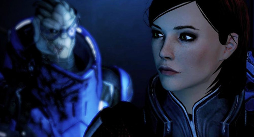 Mass Effect 2 Shepard Garrus