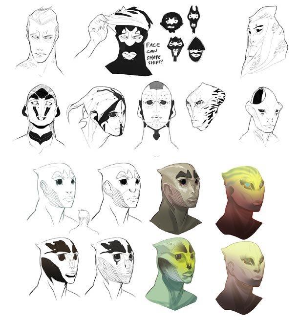 Thane's heads 2