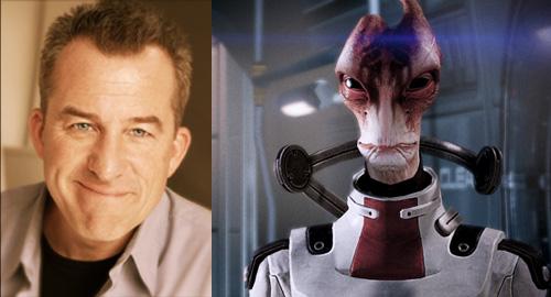Mass Effect 2 Michael Beattie as Mordin Solus