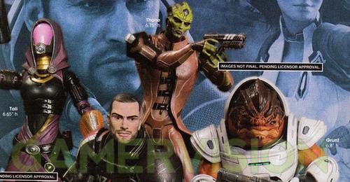 Фигурки Mass Effect 2