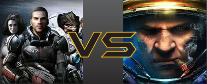 Mass Effect 2 vs StarCraft 2