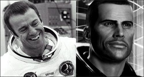Alan Shepard / John Shepard