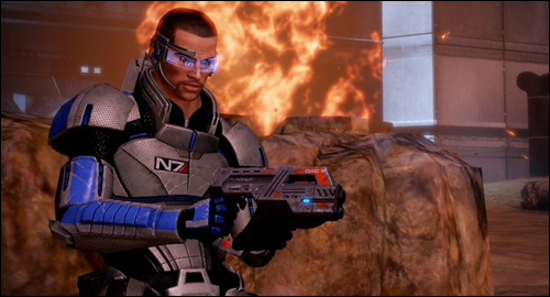 Mass Effect 2 cover system