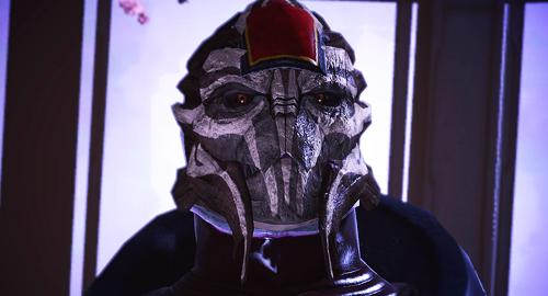 Mass Effect Turian Counsillor