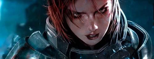 Mass Effect 3 - Новая внешность FemShep
