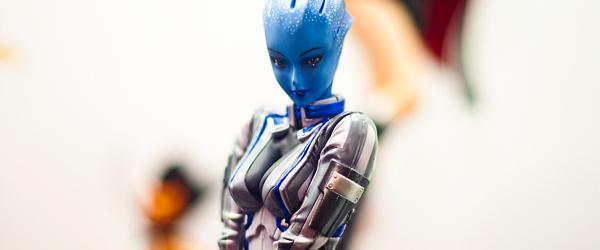 Обновлённая статуэтка Лиары