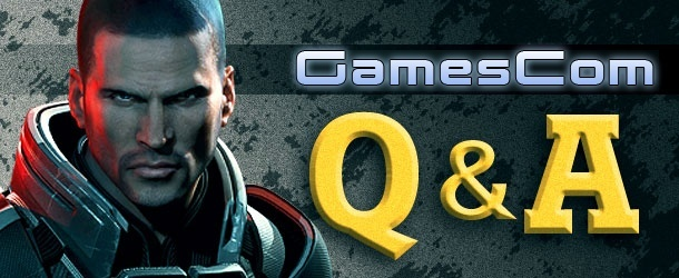 Mike Gamble Mass Effect 3 GamesCom Q&A