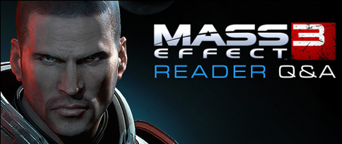 Gameinformer Q&A on Mass Effect 3