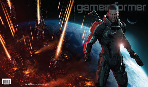Mass Effect 3 - Обложка GameInformer