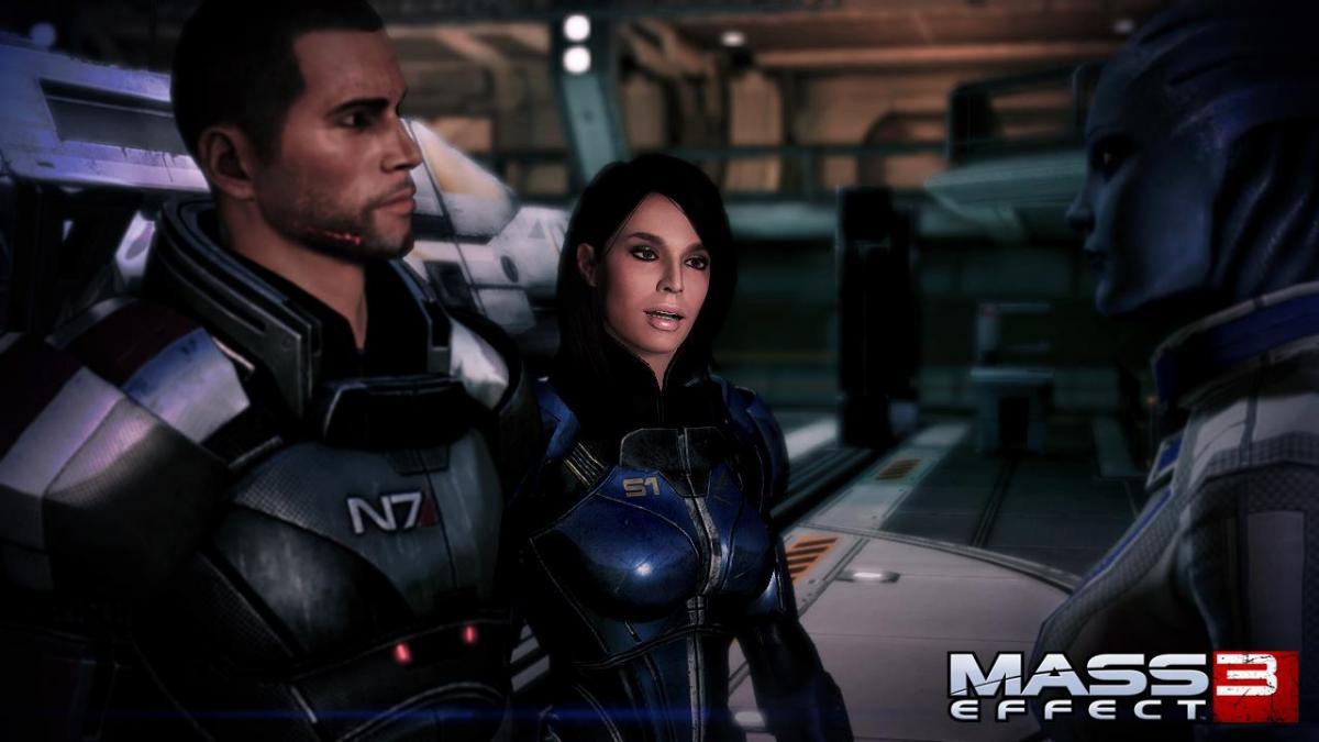 Mass Effect 3 Ashley Williams full armor