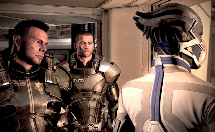 Mass Effect 3 @Gamer screenshot
