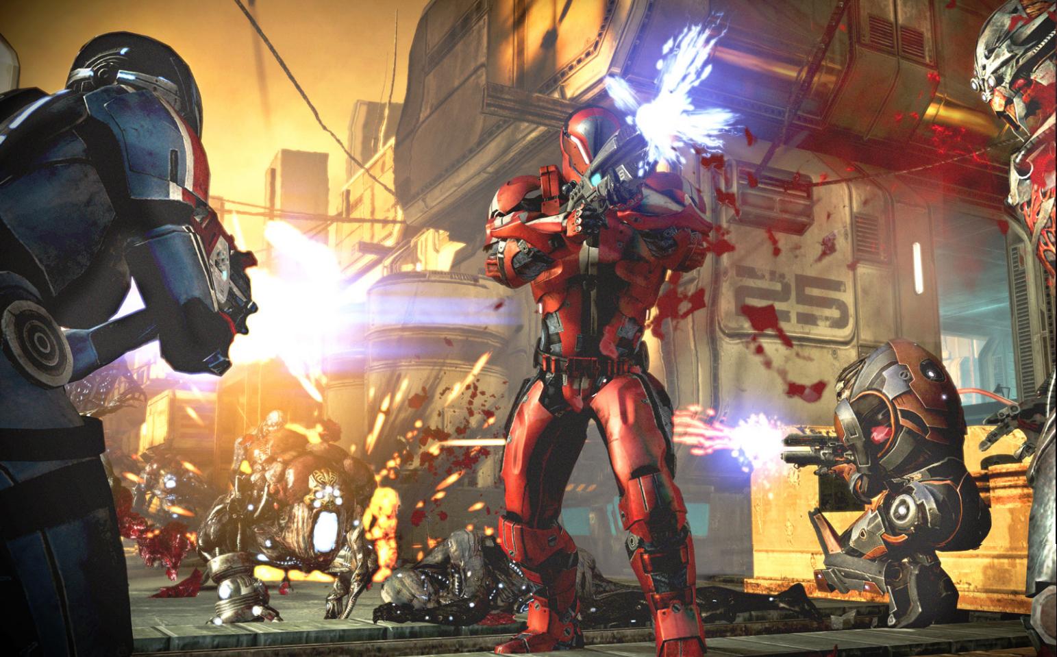 Mass Effect 3 @Gamer screenshot