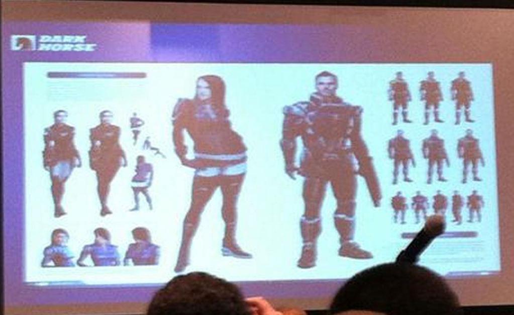 Концепты Эшли и Кайдена в Mass Effect 3