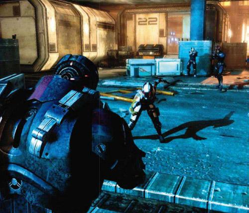 Кооператив в Mass Effect 3