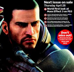 Mass Effect 3 - Обложка апрельского PSM3