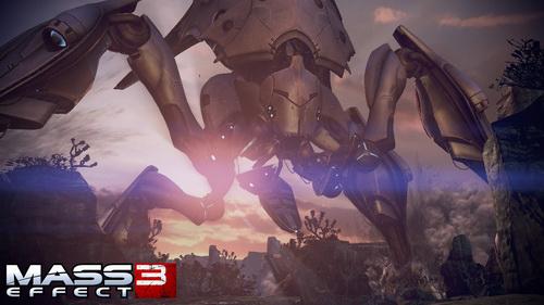 Mass Effect 3 - Наземный Жнец