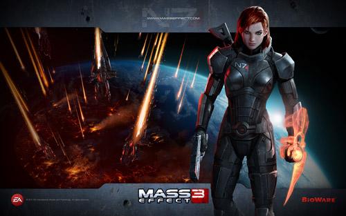 Официальная femShep для Mass Effect 3