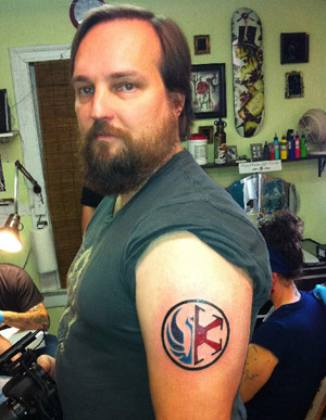 Татуировка Star Wars: The Old Republic