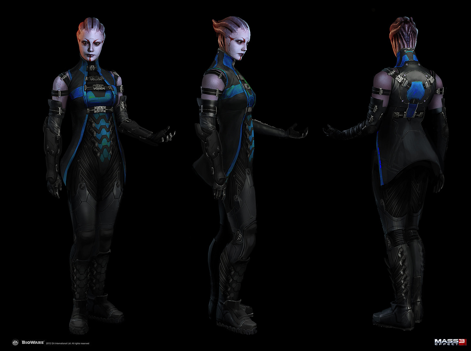 Art pic of mass effect pics of  nude galleries
